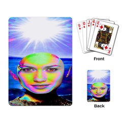 Sunshine Illumination Playing Card by icarusismartdesigns