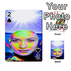 Sunshine Illumination Playing Cards 54 Designs
