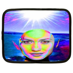 Sunshine Illumination Netbook Case (large) by icarusismartdesigns