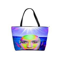 Sunshine Illumination Shoulder Handbags by icarusismartdesigns