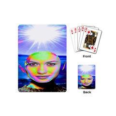 Sunshine Illumination Playing Cards (mini)  by icarusismartdesigns