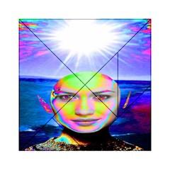 Sunshine Illumination Acrylic Tangram Puzzle (6  X 6 ) by icarusismartdesigns