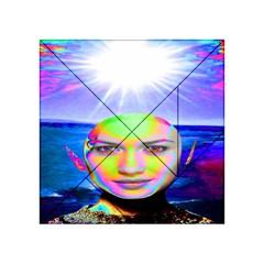 Sunshine Illumination Acrylic Tangram Puzzle (4  X 4 ) by icarusismartdesigns