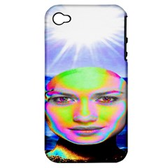 Sunshine Illumination Apple Iphone 4/4s Hardshell Case (pc+silicone) by icarusismartdesigns