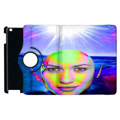 Sunshine Illumination Apple Ipad 3/4 Flip 360 Case by icarusismartdesigns