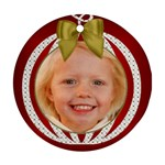 2015 Lily - Round Ornament (Two Sides)
