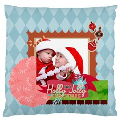 Xmas By Joy   Standard Flano Cushion Case (two Sides)   9jmz07dmistv   Www Artscow Com Front
