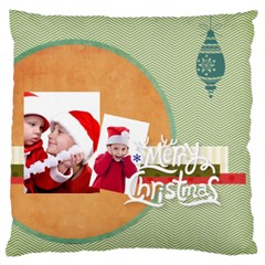 Xmas By Joy   Standard Flano Cushion Case (two Sides)   Jsg7m5vjlw8s   Www Artscow Com Front