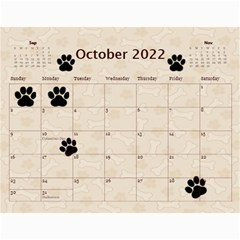 Dog Calender 2016 By Joy Johns   Wall Calendar 11  X 8 5  (12 Months)   O0p58zrueg3b   Www Artscow Com Oct 2016
