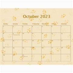 Cat Calender 2016 By Joy Johns   Wall Calendar 11  X 8 5  (12 Months)   Iniz2nq6f7fu   Www Artscow Com Oct 2016