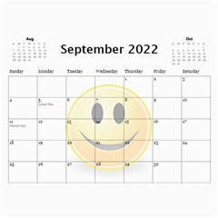 Calendar Of Joy, 2016 By Joy Johns   Wall Calendar 11  X 8 5  (12 Months)   G62j531y91io   Www Artscow Com Sep 2016