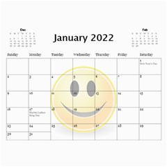 Calendar Of Joy, 2016 By Joy Johns   Wall Calendar 11  X 8 5  (12 Months)   G62j531y91io   Www Artscow Com Jan 2016