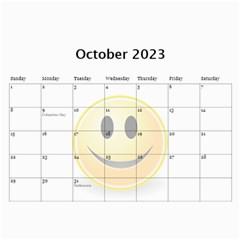 Calendar Of Joy, 2019 By Joy Johns Oct 2019