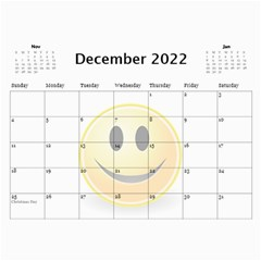 Calendar Of Joy, 2016 By Joy Johns   Wall Calendar 11  X 8 5  (12 Months)   G62j531y91io   Www Artscow Com Dec 2016