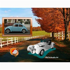 Classic Cars Parade, 2016 By Joy Johns   Wall Calendar 11  X 8 5  (12 Months)   Y8jx1v04wpah   Www Artscow Com Month