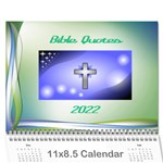 Bible Quotes Calendar, 2016 - Wall Calendar 11  x 8.5  (12-Months)