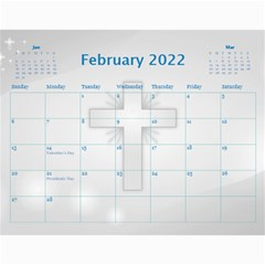 Bible Quotes Calendar, 2019 By Joy Johns   Wall Calendar 11  X 8 5  (12 Months)   Bw2xwzp419qq   Www Artscow Com Feb 2019