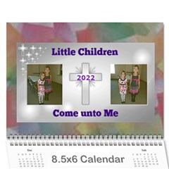 Childrens Bible Verse Mini Calendar By Joy Johns   Wall Calendar 8 5  X 6    Yhxiy9t43000   Www Artscow Com Cover