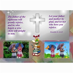 Childrens Bible Verse Mini Calendar By Joy Johns   Wall Calendar 8 5  X 6    Yhxiy9t43000   Www Artscow Com Month