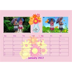 Bouquet Of Love Desk Calender By Joy Johns   Desktop Calendar 8 5  X 6    1k2n2p90844r   Www Artscow Com Jan 2016