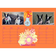 Bouquet Of Love Desk Calender By Joy Johns   Desktop Calendar 8 5  X 6    1k2n2p90844r   Www Artscow Com Nov 2016
