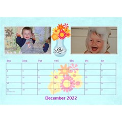 Bouquet Of Love Desk Calender By Joy Johns   Desktop Calendar 8 5  X 6    1k2n2p90844r   Www Artscow Com Dec 2016