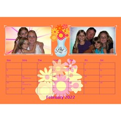 Bouquet Of Love Desk Calender By Joy Johns   Desktop Calendar 8 5  X 6    1k2n2p90844r   Www Artscow Com Feb 2016