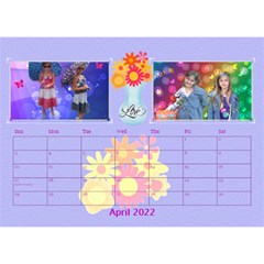Bouquet Of Love Desk Calender By Joy Johns   Desktop Calendar 8 5  X 6    1k2n2p90844r   Www Artscow Com Apr 2016