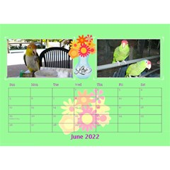 Bouquet Of Love Desk Calender By Joy Johns   Desktop Calendar 8 5  X 6    1k2n2p90844r   Www Artscow Com Jun 2016
