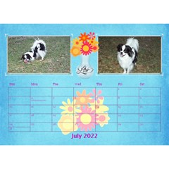 Bouquet Of Love Desk Calender By Joy Johns   Desktop Calendar 8 5  X 6    1k2n2p90844r   Www Artscow Com Jul 2016