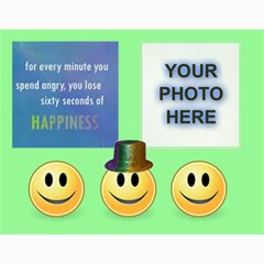 Happy Face Wall Calendar, 8x11 By Joy Johns   Wall Calendar 11  X 8 5  (12 Months)   Zbipdf7y8mnt   Www Artscow Com Month