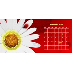 Flower Desktop 11x5 Calendar By Joy Johns   Desktop Calendar 11  X 5    Uxmz1kgb3f9k   Www Artscow Com Nov 2016