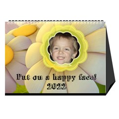 Happy Face Desk Calender By Joy Johns   Desktop Calendar 8 5  X 6    Rtxx9xrpqt77   Www Artscow Com Cover
