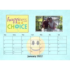 Happy Face Desk Calender By Joy Johns   Desktop Calendar 8 5  X 6    Rtxx9xrpqt77   Www Artscow Com Jan 2016