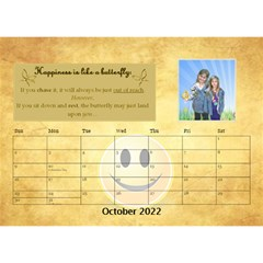 Happy Face Desk Calender By Joy Johns   Desktop Calendar 8 5  X 6    Rtxx9xrpqt77   Www Artscow Com Oct 2016