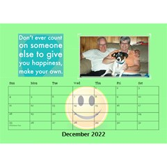 Happy Face Desk Calender By Joy Johns   Desktop Calendar 8 5  X 6    Rtxx9xrpqt77   Www Artscow Com Dec 2016