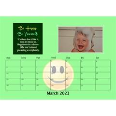 Happy Face Desk Calender By Joy Johns   Desktop Calendar 8 5  X 6    Rtxx9xrpqt77   Www Artscow Com Mar 2016