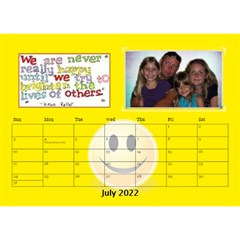 Happy Face Desk Calender By Joy Johns   Desktop Calendar 8 5  X 6    Rtxx9xrpqt77   Www Artscow Com Jul 2016