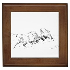 Buffalo / Bison Gift Framed Tile by TwoFriendsGallery