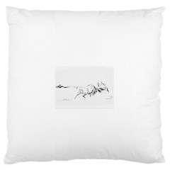 When Titans Collide 5x7 Standard Flano Cushion Cases (one Side)  by TwoFriendsGallery
