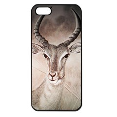 Antelope Horns Apple Iphone 5 Seamless Case (black) by TwoFriendsGallery