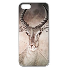 Antelope Horns Apple Seamless Iphone 5 Case (clear) by TwoFriendsGallery