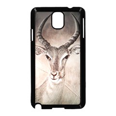 Antelope Horns Samsung Galaxy Note 3 Neo Hardshell Case (black) by TwoFriendsGallery
