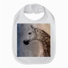 Grey Arabian Horse Bib by TwoFriendsGallery