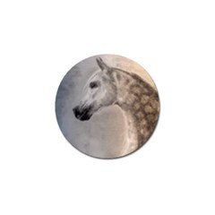 Grey Arabian Horse Golf Ball Marker (4 Pack) by TwoFriendsGallery