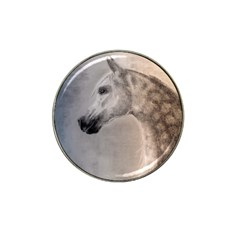 Grey Arabian Horse Hat Clip Ball Marker (10 Pack) by TwoFriendsGallery