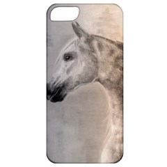 Grey Arabian Horse Apple Iphone 5 Classic Hardshell Case by TwoFriendsGallery