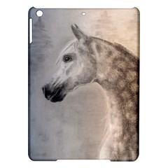 Grey Arabian Horse Ipad Air Hardshell Cases by TwoFriendsGallery
