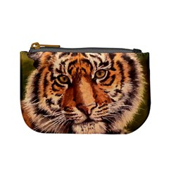 Tiger Cub Mini Coin Purses by ArtByThree