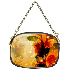 Awesome Colorful, Glowing Leaves  Chain Purses (one Side)  by FantasyWorld7